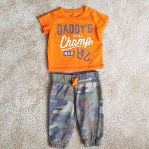 Baby Boy's Carter's Outfit
